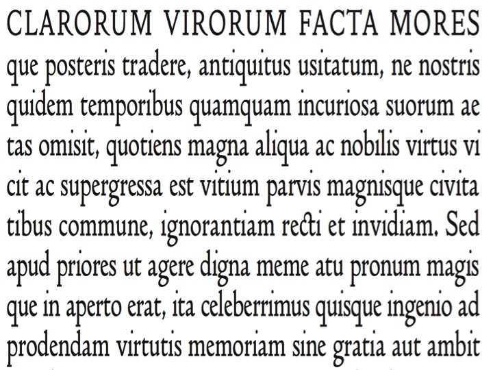 Name that font…